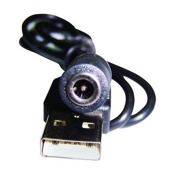 S.C.E 世淇USBA公/DC3.5母 電源線50cm