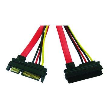 I-WIZ 彰唯 PW-48 SATA硬碟+電源延長線(公母)40cm