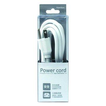PowerSync 群加主機電源線 1.8M (白)