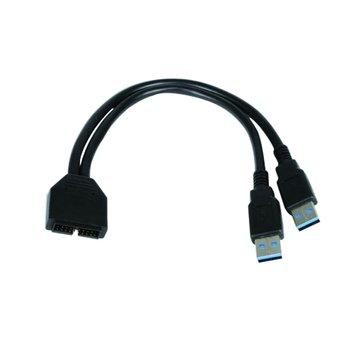 COOLER MASTER 訊凱科技CM USB 19PIN轉USB3.0延伸轉接線