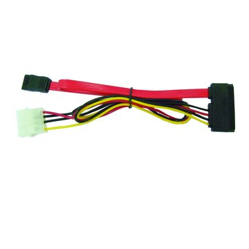 S.C.E 世淇SATA硬碟線+電源線 二合一 40CM