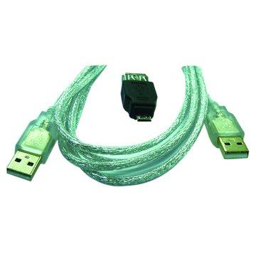 S.C.E 世淇A公/A公 1.8M+Micro USB B公轉接頭