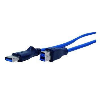 PowerSync 群加 USB 3.0 A公-B公 1.5M