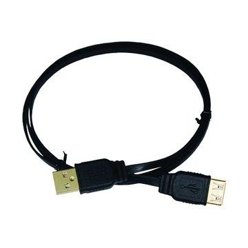vision 創視USB 2.0 A公-A母1M扁線