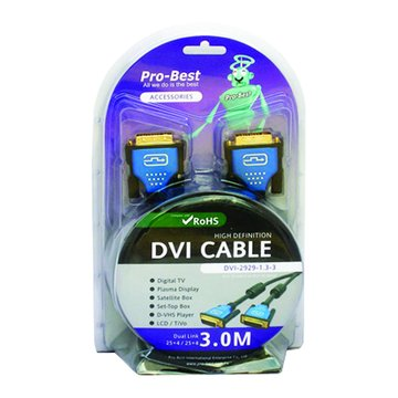 Pro-Best 柏旭佳DVI (29M-29M)3M 1.3版10.2G RoHS
