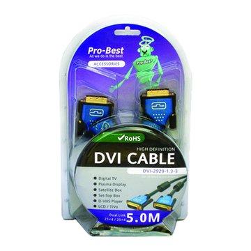 Pro-Best 柏旭佳DVI (29M-29M)5M 1.3版10.2G RoHS