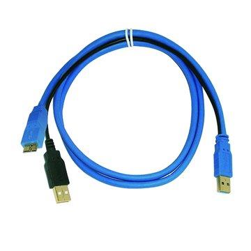 Pro-Best 柏旭佳USB3.0 2A/Mirco B公分享線 1.2M
