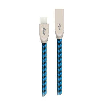 Hawk 鵰族USB3.1 Type-C/USB 2.0A公 1.5M鋅合金編織
