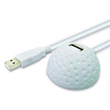 PC Park USB2.0 延長座(白)