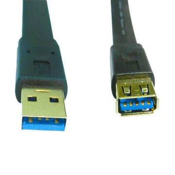 S.C.E 世淇USB3.0 A公/A母 1M扁線