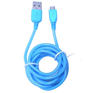 vision 創視USB 2.0 A公/Micro B公 160cm 螢光線