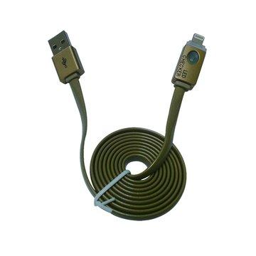 vision 創視Lightning / USB 1M發光頭傳輸線