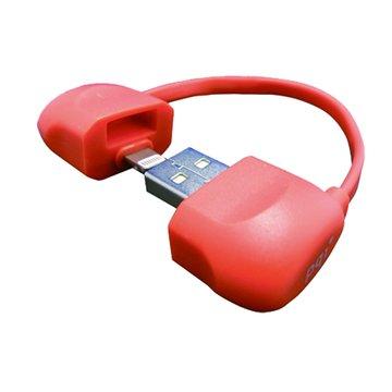 PQI 勁永 Lightning / USB i-Cable Bag 藍 10cm