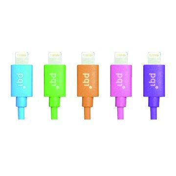 PQI 勁永 Lightning / USB 90cm黑 圓線