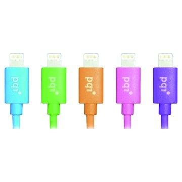 PQI 勁永 Lightning / USB 90cm綠 圓線