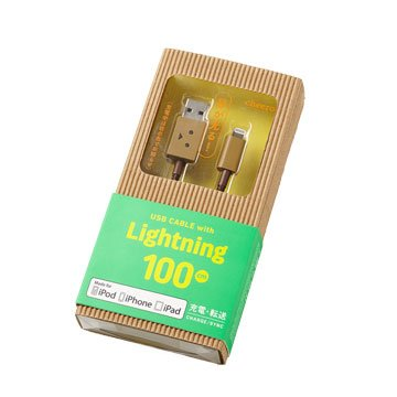 Lightning/USB 1M阿愣充電傳輸線
