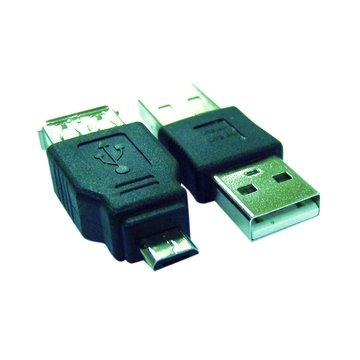 S.C.E 世淇Micro B公/A母+A公/公轉接頭