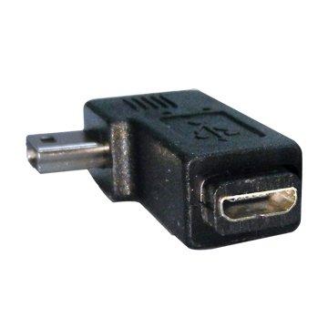 S.C.E 世淇Mini 5pin公/Micro USB母 向右90°轉接頭