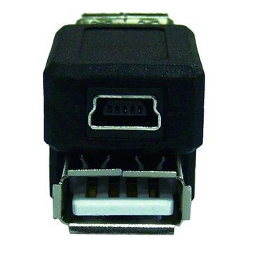 S.C.E 世淇USB A母轉迷你5PIN母囀接頭