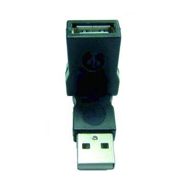 I-WIZ USB2.0 A公/A母 自由彎曲轉接頭