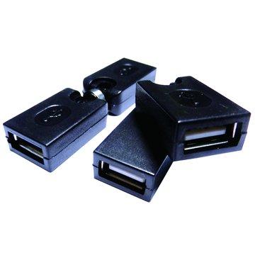 S.C.E 世淇USB2.0 A母/A母 自由彎曲轉接頭