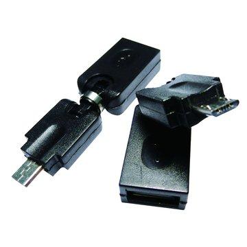 I-WIZ USB2.0 A母/Micro B公 自由彎曲轉接頭
