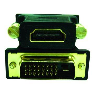 S.C.E 世淇HDMI母/DVI(24+1)公 轉接頭