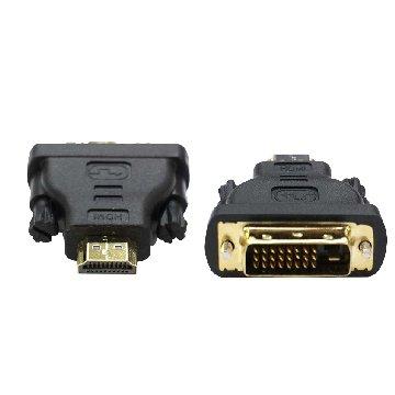 S.C.E 世淇HDMI 19公/DVI 25公 轉接頭