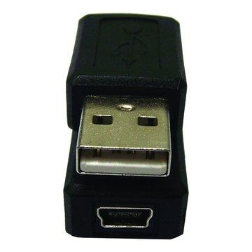 S.C.E 世淇USB A公轉迷你5PIN母