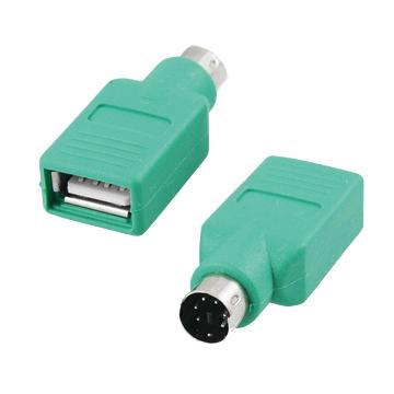S.C.E 世淇 USB A母-PS/2公(限羅技專用)