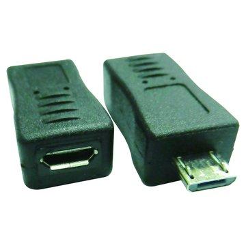 S.C.E 世淇Micro USB公/母轉接頭