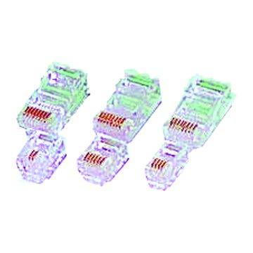 S.C.E 世淇 4P2C電話線接頭(10個)