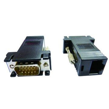 S.C.E 世淇 HD高畫質VGA公網路轉接頭
