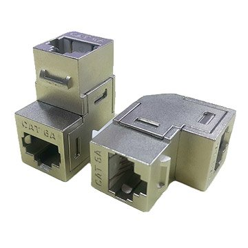 Pro-Best Cat.6A FTP 網路接續盒 90度 金屬遮蔽外殼