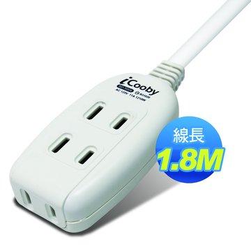 iCooby SD-5004-6 2P 三插 1.8M/11A