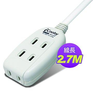 iCooby SD-5004-9 2P 三插 2.7M/11A