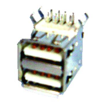 S.C.E 世淇 UA-3 USB雙層90度接頭