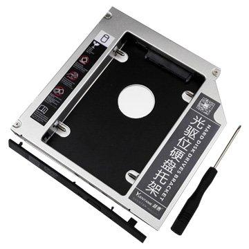 筆電光碟擴增2.5吋 SSD 硬碟12.7MM SATA