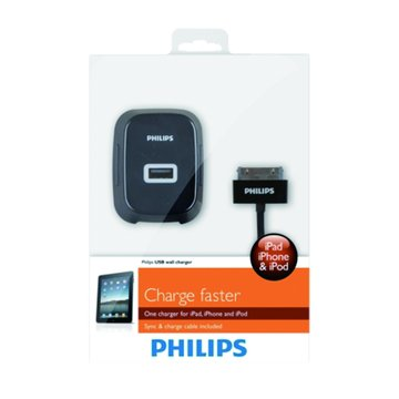 PHILIPS 飛利浦 Apple USB旅行用充電器(2.1A)