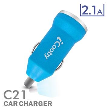 iCooby C21 藍/USB車充