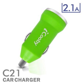 iCooby C21 綠/USB車充