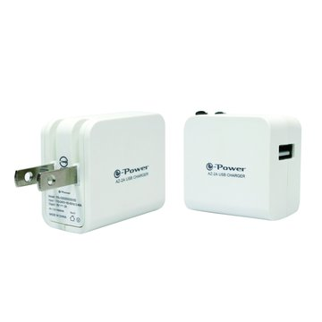 e-Power AZ-2A/白色 AC TO USB充電器