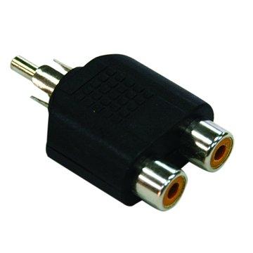 PowerSync 群加 2.5公對3.5母立體耳機變換頭