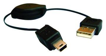S.C.E 世淇USB2.0 A公-迷你5p易拉線