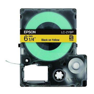 EPSON 愛普生 LC-2YBP (6mm)粉彩標籤帶