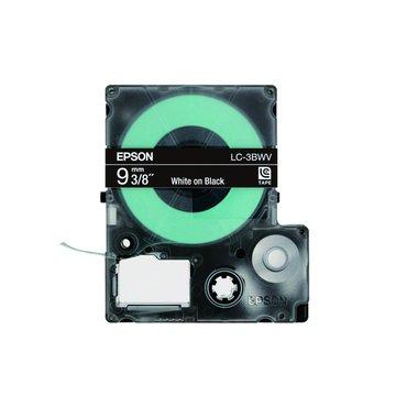 EPSON 愛普生LC-3BWV (9mm)黑底白字標籤帶