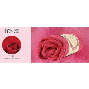 USB玫瑰保暖電熱毯-玫瑰紅色
