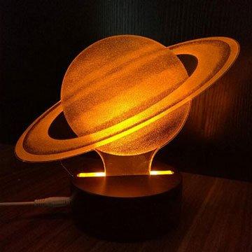 LEPONT 北歐 3D 氛圍燈 星球系列