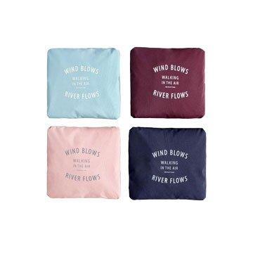 防水折疊旅行袋-粉