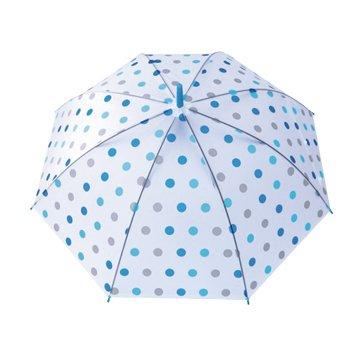 KINYO KU-8020BU 花漾環保自動傘(21吋/藍點
